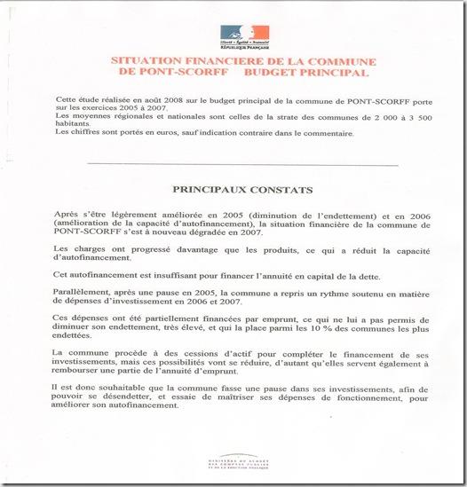 analyse financière 2005-2007 Pont Skorf