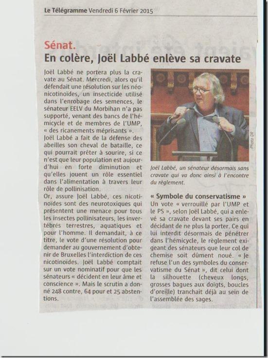 Le Télégramme  (06.02.15)