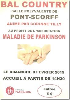 Parkinson - bal country - Pont scorff