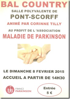 Parkinson - bal country - Pont scorff