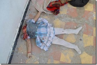 Petite fille décapitée