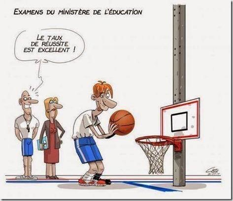 Nivèlement à l'Education nationale