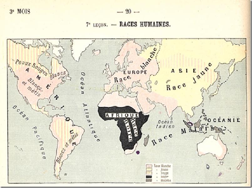 Les races dans le monde